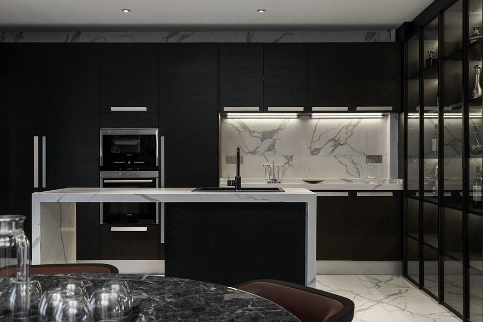 厨房地砖什么颜色好看