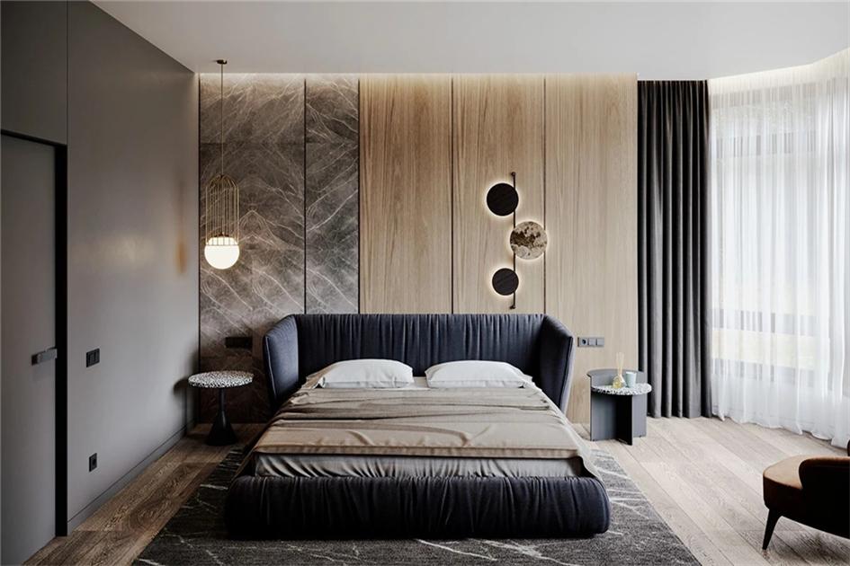 卧室窗帘色彩搭配