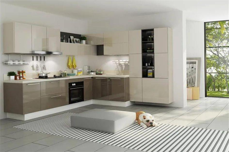 厨房地砖色彩搭配
