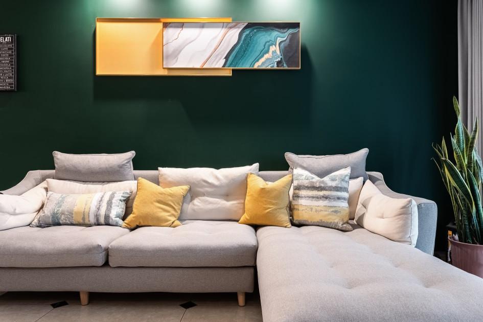 沙发背景墙装修