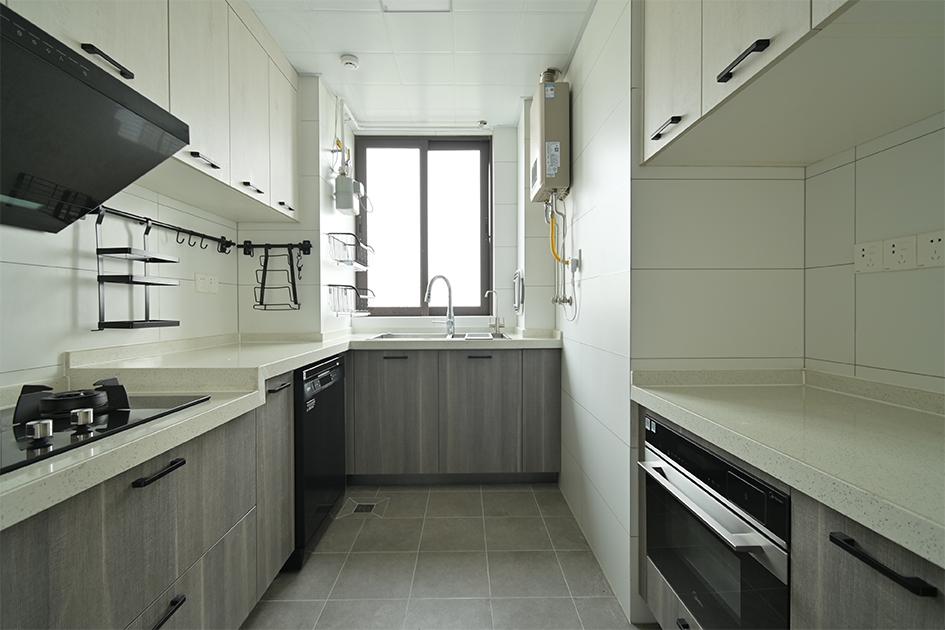封闭式厨房设计