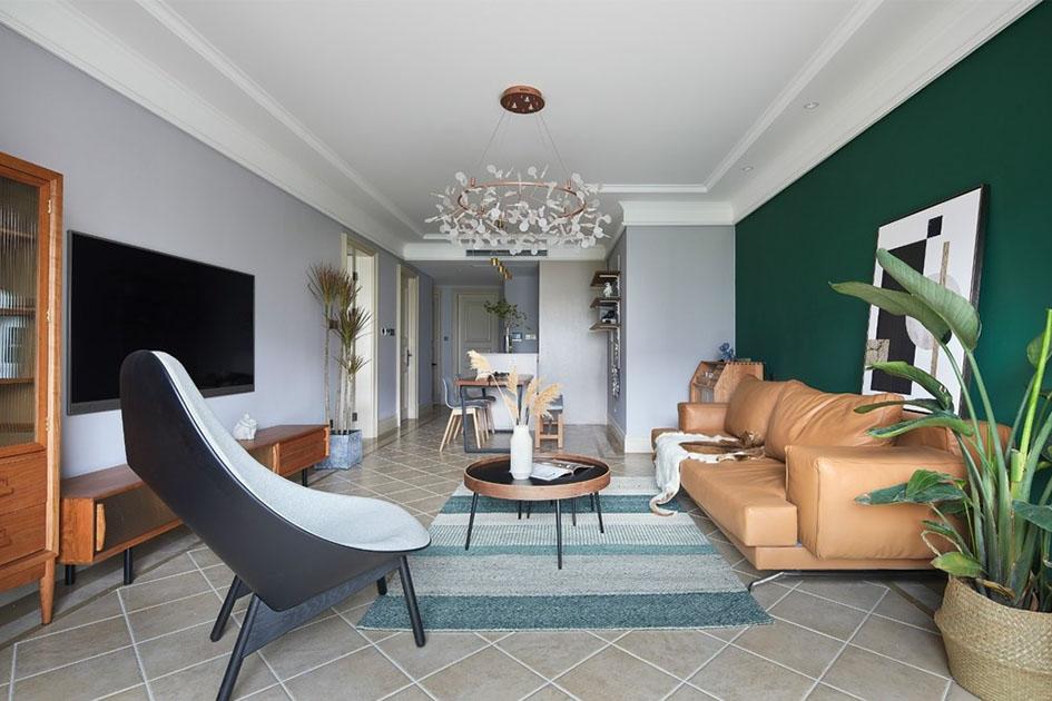 客厅装修用什么颜色