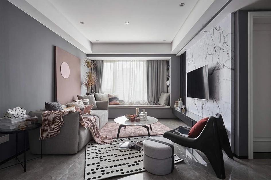 客厅装修颜色搭配
