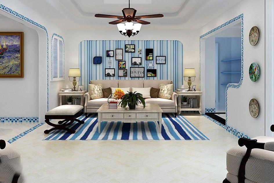 客厅墙面颜色