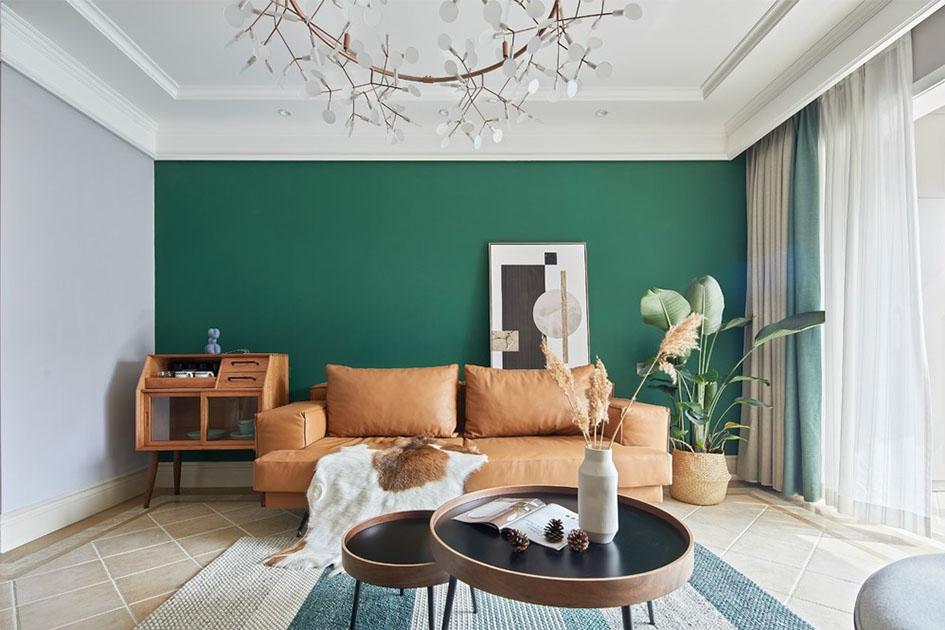 客厅适合什么颜色