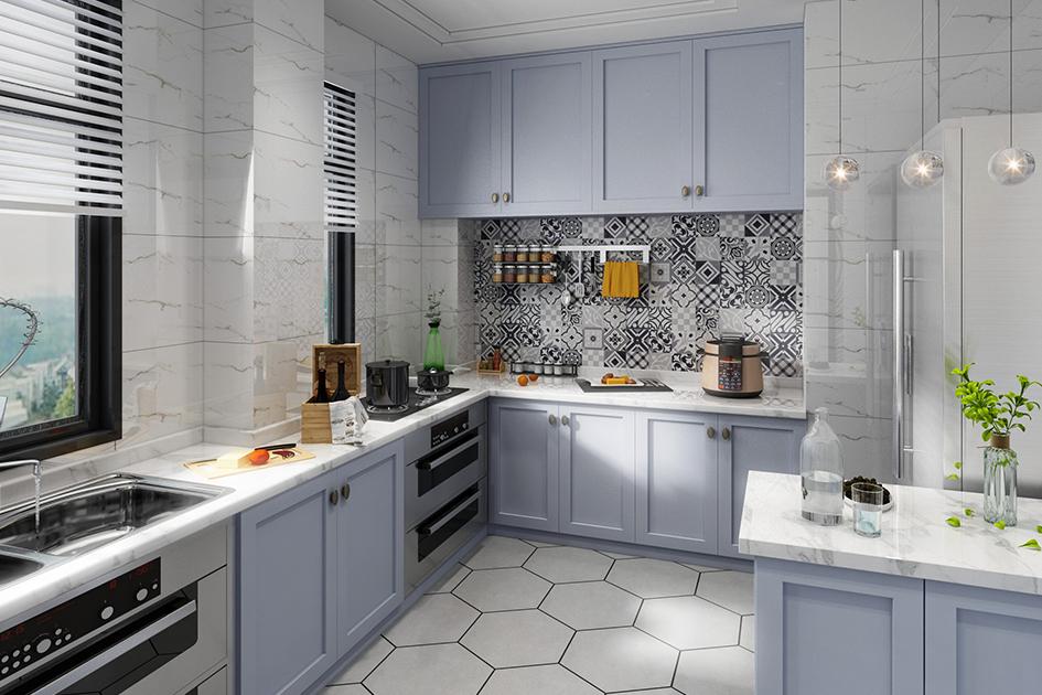 厨房装修颜色搭配