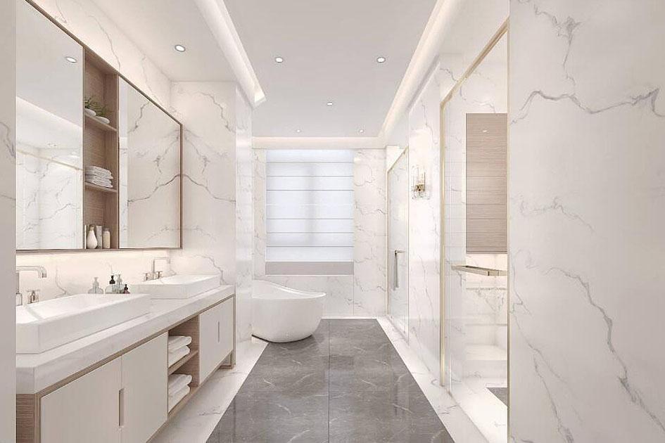 浴室的收纳