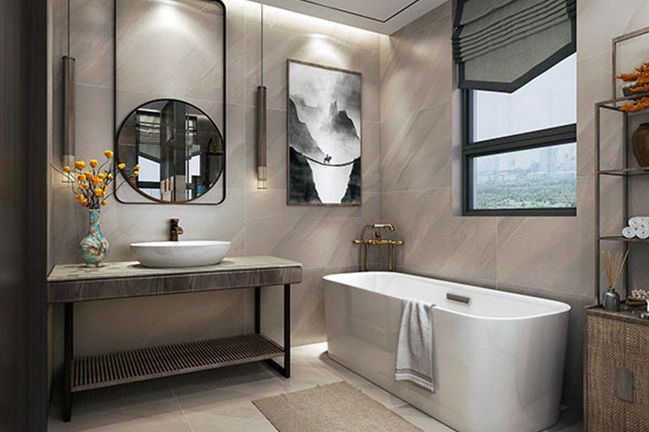 浴室收纳技巧