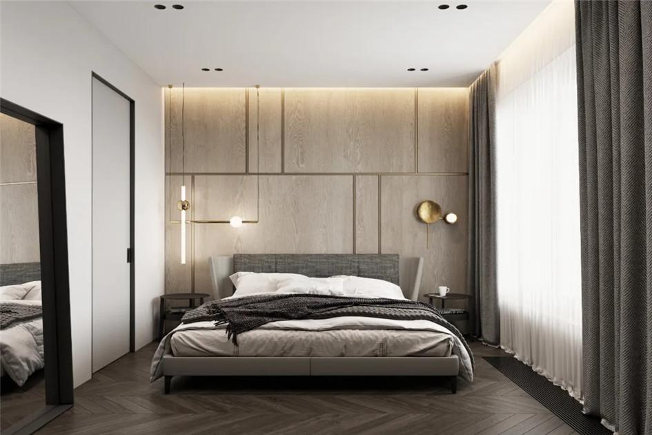 卧室装修墙面颜色搭配
