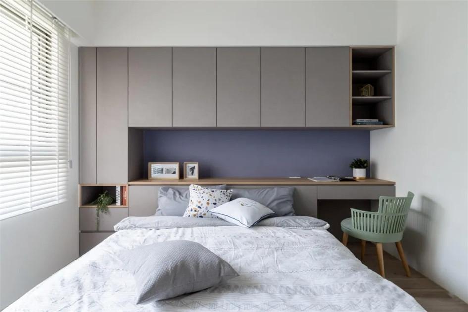 书房卧室一体装修
