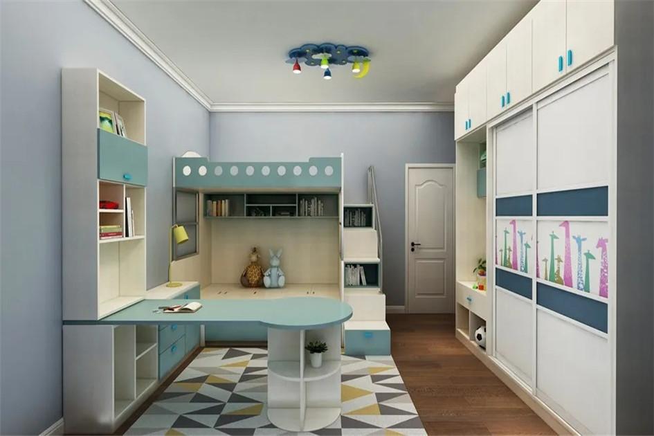 儿童房收纳设计
