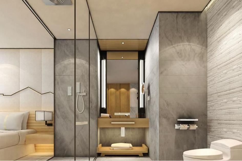浴室玻璃门安装