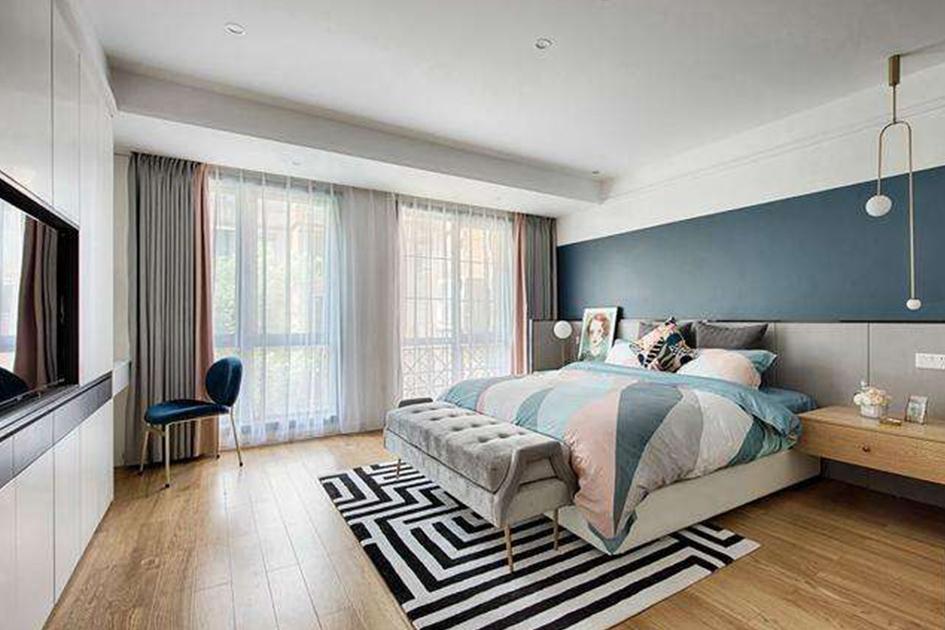 卧室地板什么颜色好