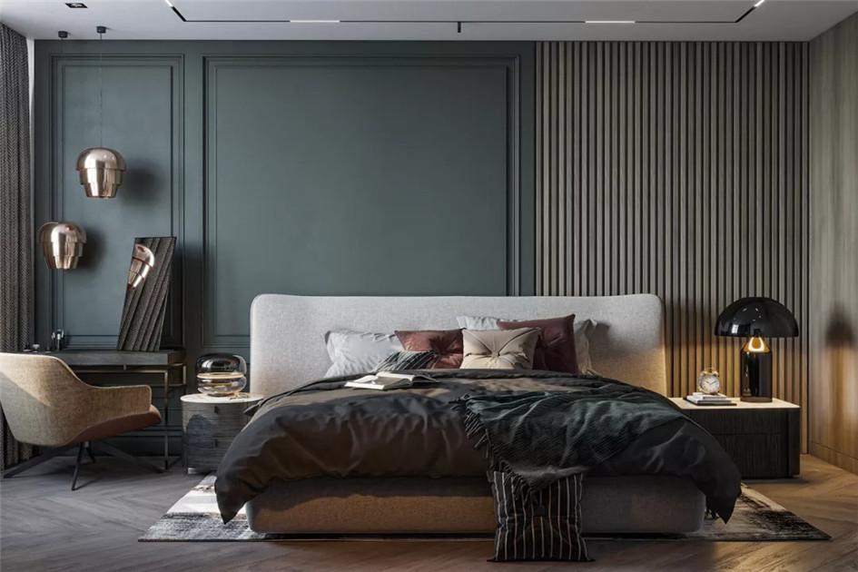 卧室墙面颜色搭配