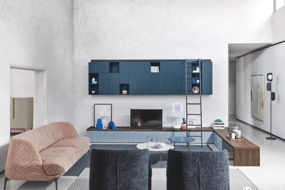 客厅定制电视柜