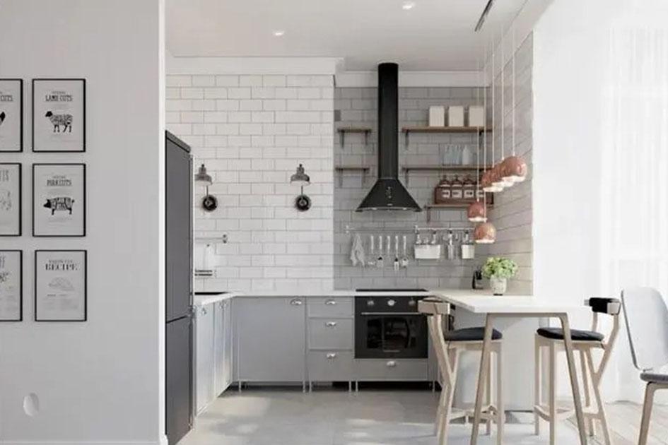 小厨房如何装修