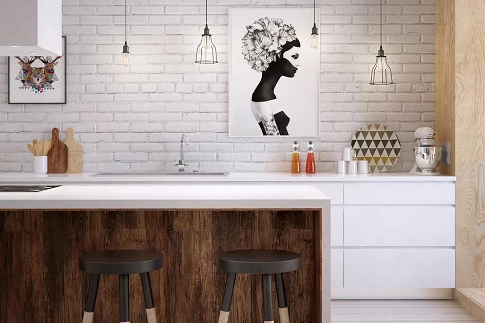厨房灯具安装