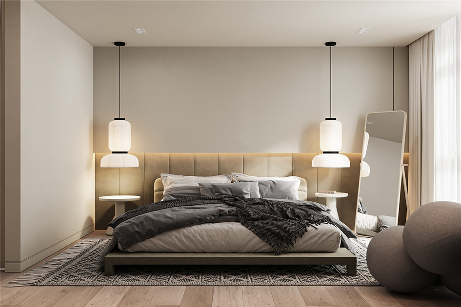 卧室装修颜色搭配