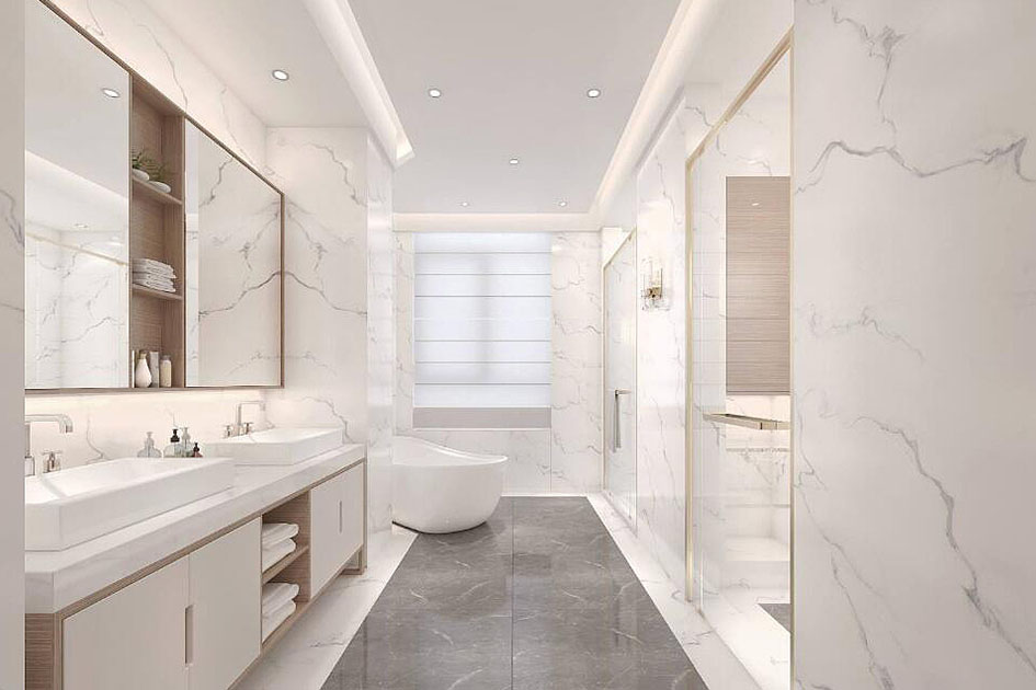 卫浴间玻璃隔断