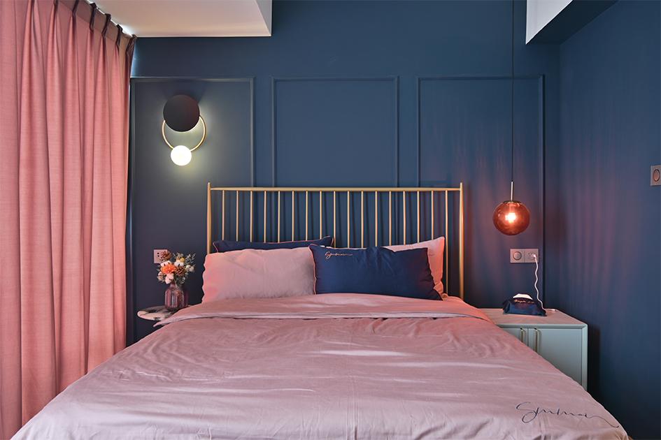 卧室吊灯安装