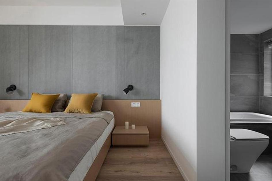 卧室带卫生间装修