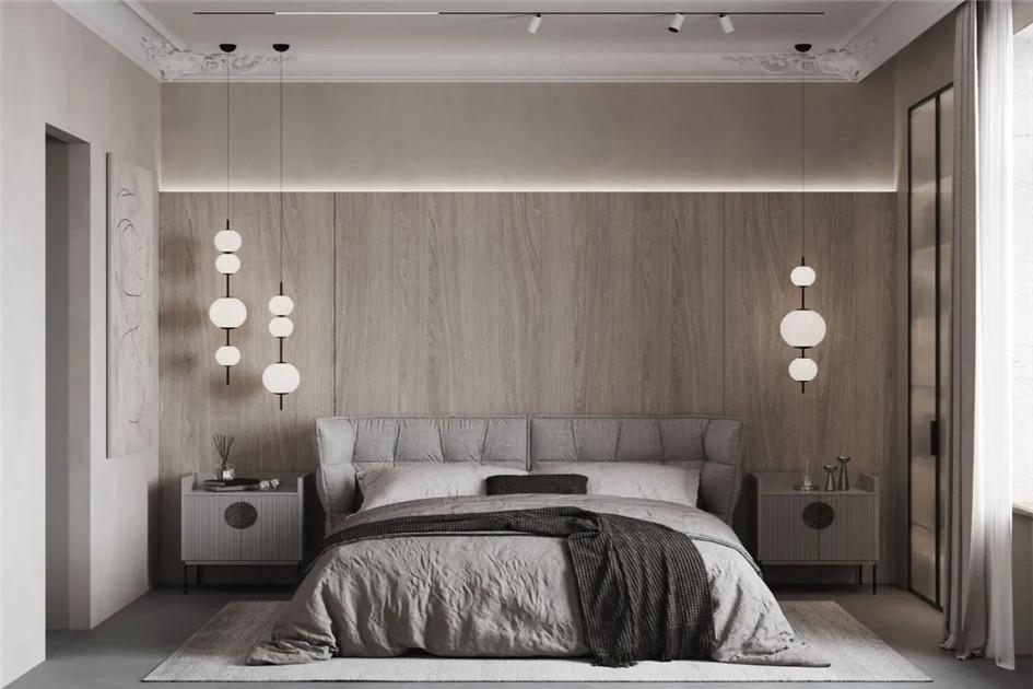 现代风卧室