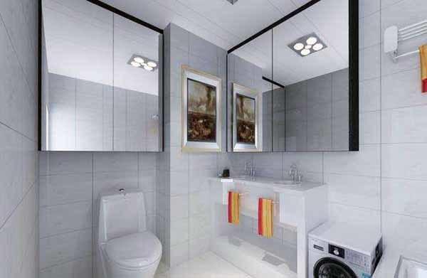 小户型浴室装修技巧